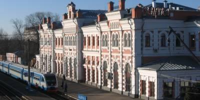 Ж/Д вокзал города Калуга